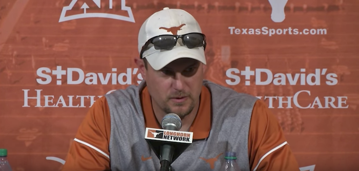 "Tom Herman Texas ""RevolUTion"""