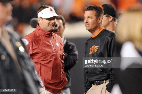 bob stoops and mike gundy