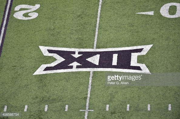 big 12 logo football game