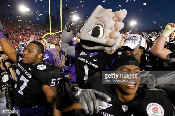 TCU Horned Frogs mascot