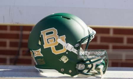 baylor football helmet