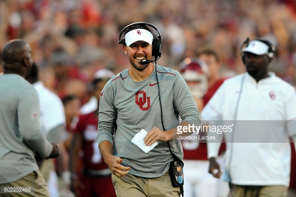 big 12 assistant lincoln riley oklahoma
