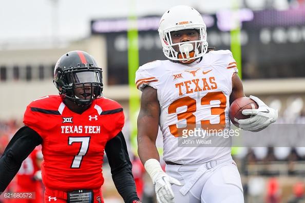 Armanti Foreman Texas Longhorns Football Jersey - Orange