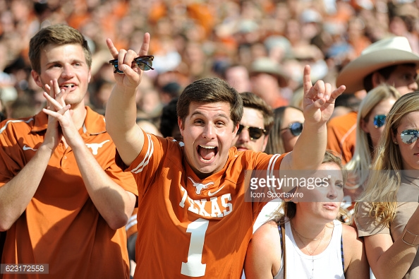 texas longhorns football fans
