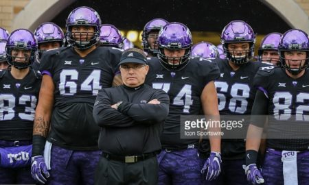 gary patterson tcu spring practice