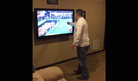 alabama fan punches tv