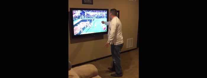 alabama fan punches tv
