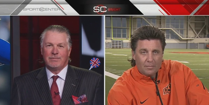 mike gundy mullet