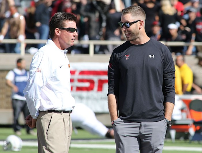 Mike Gundy and Kliff Kingsbury