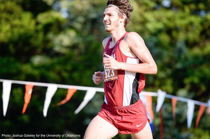 Oklahoma runner Liam Meirow