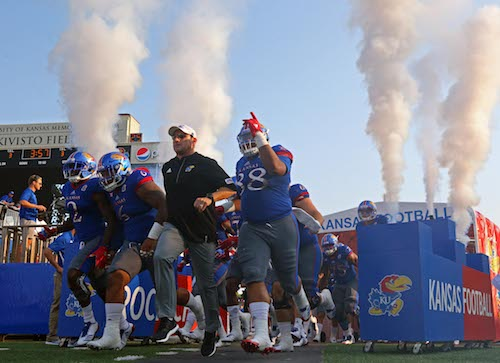 NCAA Football: SE Missouri State at Kansas