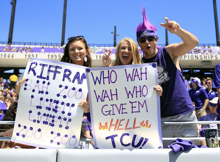 NCAA Football: Stephen F. Austin at Texas Christian