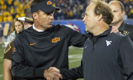 NCAA Football: Oklahoma State at West Virginia