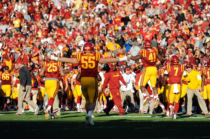 Iowa State defense line