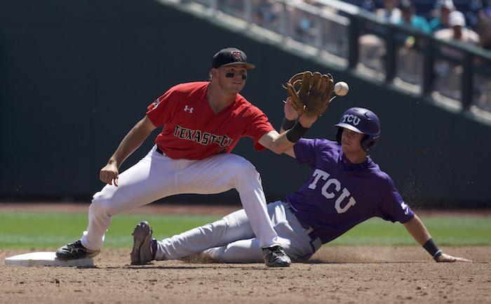 NCAA Baseball: College World Series-TCU vs Texas Tech
