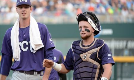 NCAA Baseball: College World Series-Coastal Carolina vs TCU