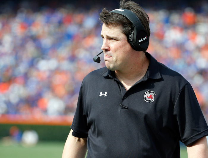 Will Muschamp comments on Texas and Texas A&M
