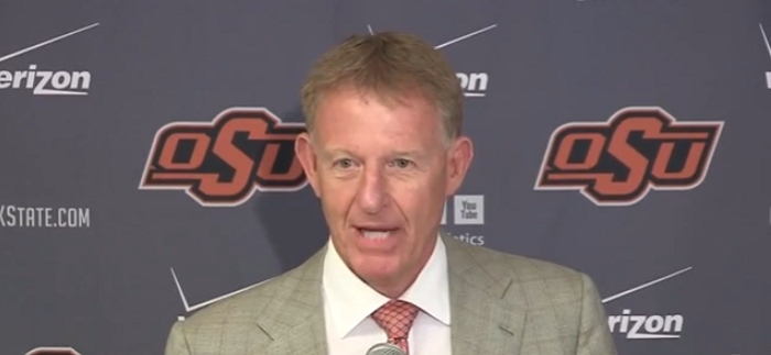 oklahoma state AD Mike Holder