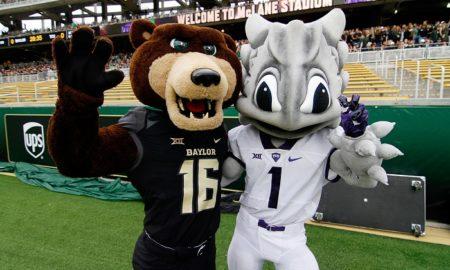 TCU and Baylor mascots