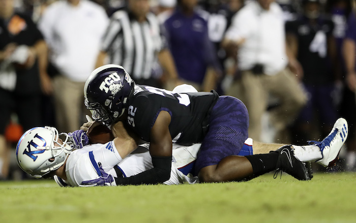 NCAA Football: Kansas at Texas Christian