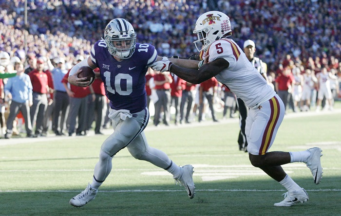 NCAA Football: Iowa State at Kansas State