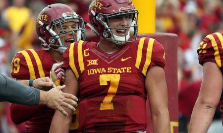 NCAA Football: Baylor at Iowa State