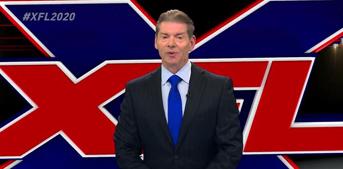 XFL, Vince McMahon