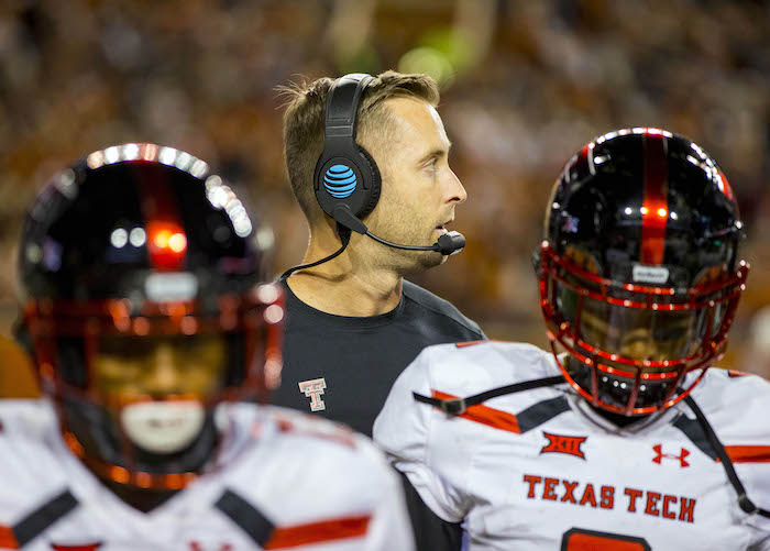 NCAA Football: Texas Tech at Texas