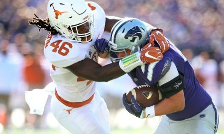 NCAA Football: Texas at Kansas State