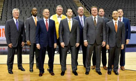 NCAA Basketball: Big 12 Media Day