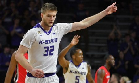 NCAA Basketball: Georgia at Kansas State