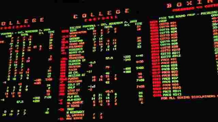 Las Vegas Sports Betting Board