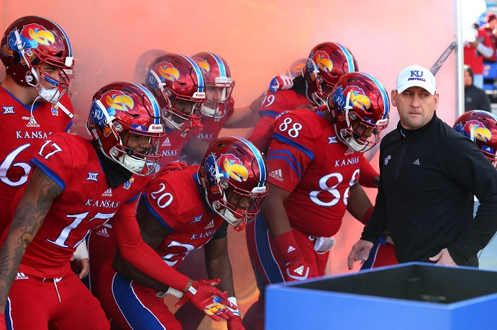 NCAA Football: Oklahoma at Kansas