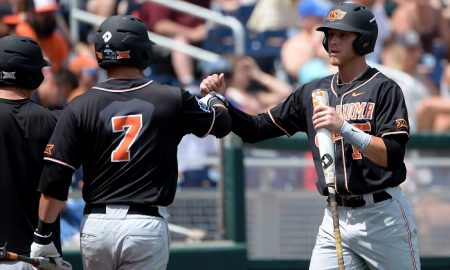 NCAA Baseball: College World Series-Arizona vs Oklahoma State