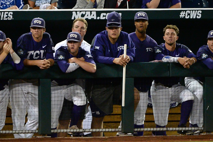 NCAA Baseball: College World Series-Florida vs TCU