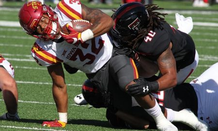 NCAA Football: Iowa State at Texas Tech
