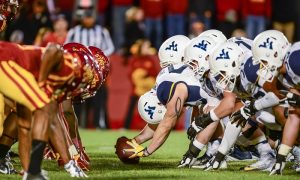 NCAA Football: West Virginia at Iowa State