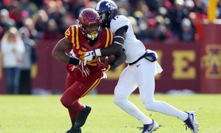 NCAA Football: Texas Christian at Iowa State