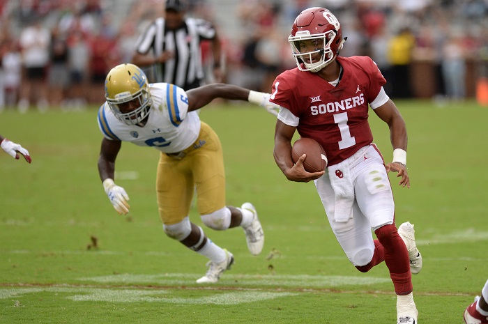 NCAA Football: UCLA at Oklahoma