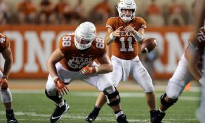 NCAA Football: Tulsa at Texas