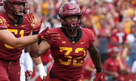 NCAA Football: Oklahoma at Iowa State