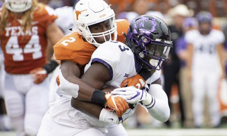 NCAA Football: Texas Christian at Texas