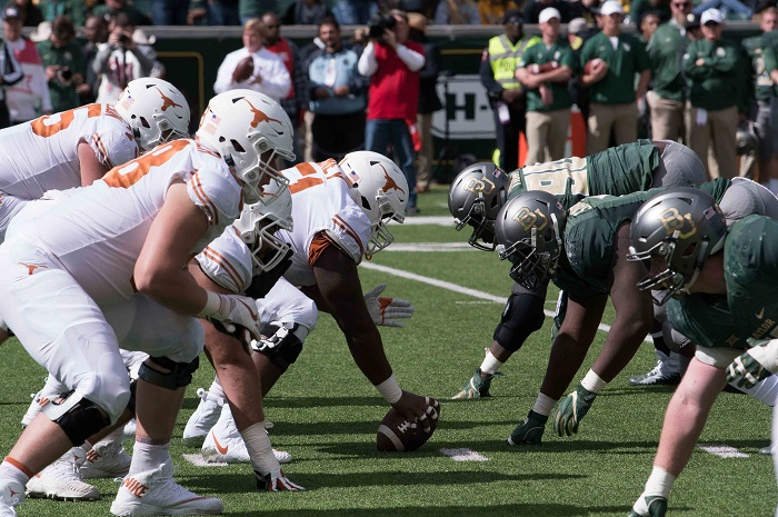 NCAA Football: Texas at Baylor
