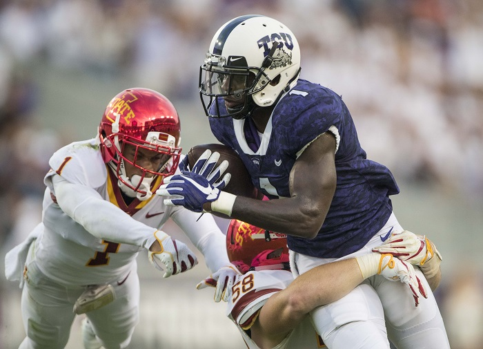NCAA Football: Iowa State at Texas Christian