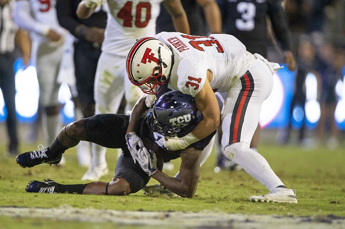 NCAA Football: Texas Tech at Texas Christian