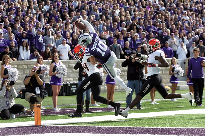 NCAA Football: Oklahoma State at Kansas State