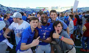 NCAA Football: Texas Christian at Kansas