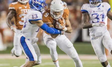 NCAA Football: Kansas at Texas