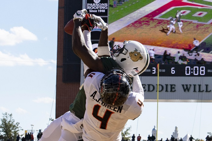 NCAA Football: Oklahoma State at Baylor