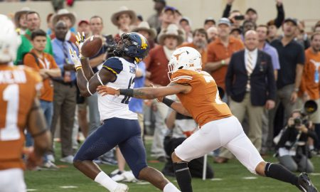NCAA Football: West Virginia at Texas